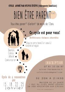 Prochain BEP : Bien être parent pour le Bien-être Parent