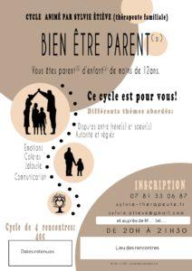 Cycle Bien-Etre Parent à domicile