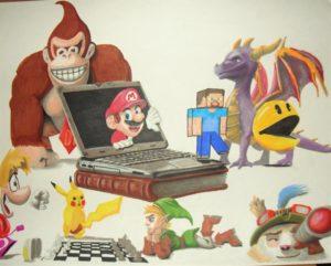 Jeux vidéo -dépendant !!