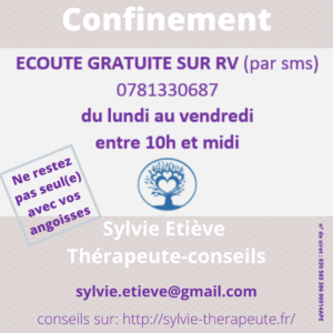TEST covid –           Confinement, acte deux.